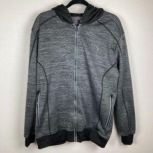 3/$20 Mens Akademic Zip Up Hoodie Sweatshirt L